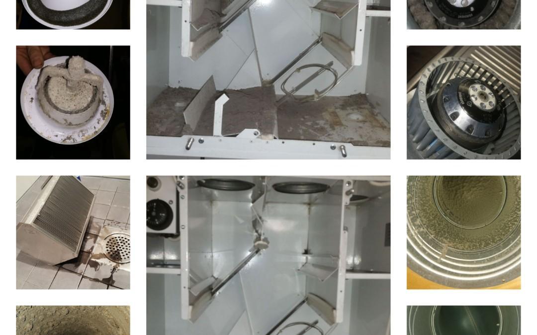 Ilmanvaihtokanavien puhdistus sekä ilmamäärien mittaus ja säätö